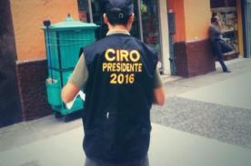 ¿Don Ciro Castillo se lanza como presidente 2016?