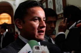 Congreso de la República aceptó candidatura de Richard Acuña a la FPF