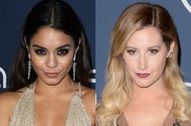 Vanessa Hudgens y Ashley Tisdale usaron pronunciados escotes en after party