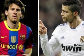 Oscar 2014: Cristiano Ronaldo y Lionel Messi en una foto selfie de la ceremonia