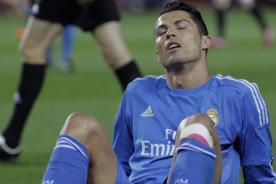 Real Madrid: Cristiano Ronaldo seguirá jugando pese a lesión