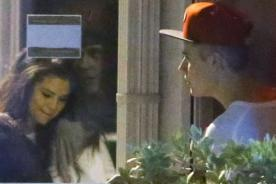 Selena Gomez visita a Justin Bieber en el estudio de grabación (Fotos)