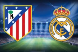 Real Madrid vs Atlético de Madrid en vivo por ESPN - Final Champions League