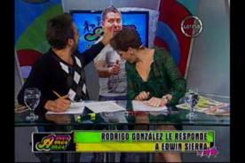 Peluchín responde con todo a Edwin Sierra por sus declaraciones [Video]