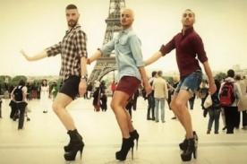 3 hombres + zapatos de tacón = Sensación en YouTube [Video]