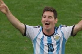 Argentina clasifica a semifinal tras vencer a Bélgica 1-0 - Brasil 2014