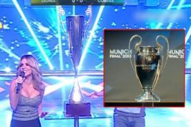 Esto Es Guerra: Comparan su trofeo con 'La Orejona' de la Champions League