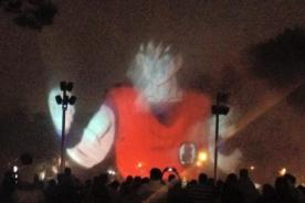 Dragon Ball Fest: Circuito Mágico del Agua proyecta imágenes del anime - Fotos