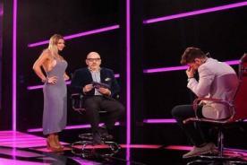 Xoana Gonzalez lució vestido transparente en televisión - VIDEO