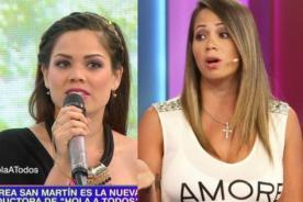 Andrea San Martín 'odiará' a Melissa Klug por mostrar este audio - VIDEO