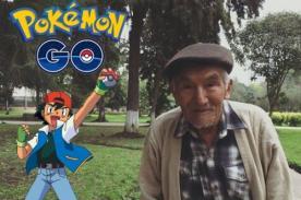 Pokémon Go en Lima: Historia de anciano conmueve a todo el Perú