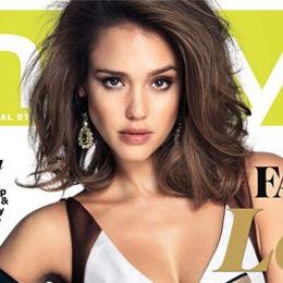 Jessica Alba se luce en la nueva portada de InStyle Australia