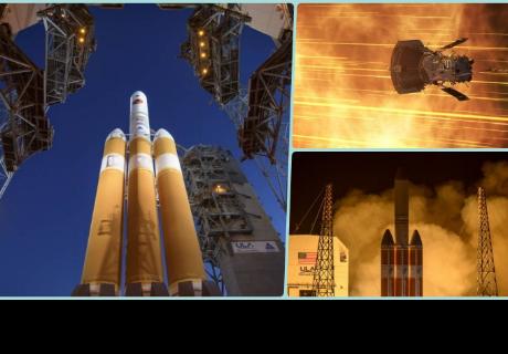 Comenzó la misión de la NASA que llegará hasta el sol