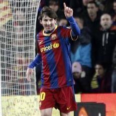 Fútbol Español: Barcelona goleó 3 - 0 a Racing de Santander