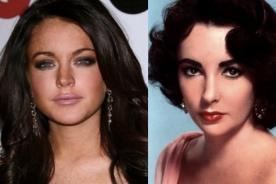 Lindsay Lohan interpretará a Elizabeth Taylor en nueva película