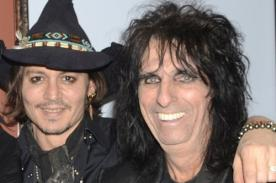 Alice Cooper: Johnny Depp es el hombre de las mil caras