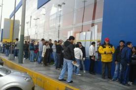 Entradas para el Perú - Colombia se venden como pan caliente