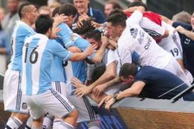 Video: Lionel Messi casi sale herido tras su golazo ante Brasil