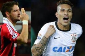 Paolo Guerrero y Alexandre Pato en Corinthians: ¿Competencia o compañía ?