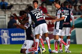 Fútbol Mexicano: Pachuca celebra gol con pirueta de lucha libre - Video