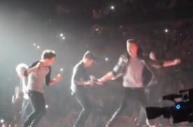 Video: One Direction bailó el Harlem Shake en pleno concierto