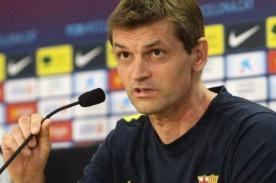 Tito Vilanova: 'No podemos salir con la idea de hacer cuatro goles'
