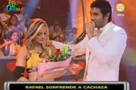 Esto es Guerra: Rafael Cardoso intenta reconquistar a Cachaza - Video