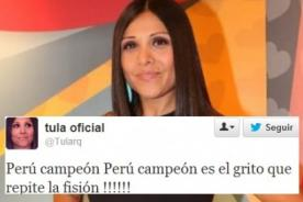 Tula Rodríguez es víctima de burlas por confundir letra de 'Perú Campeón'