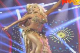 El Gran Show: Yamila Piñero en sensual danza del vientre - Video