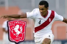Renato Tapia es nuevo jugador del Twente de Holanda