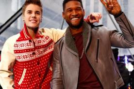 Usher y su gran amistad con Justin Bieber