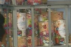 Internos se sumaron a la Teletón 2013 con 150 latas llenas de dinero