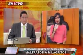 Video: Dos noticieros matutinos se disputaron la noticia