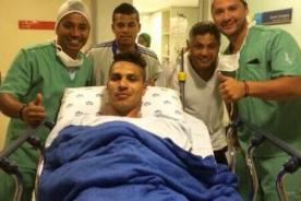 Paolo Guerrero fue operado con éxito de su pie izquierdo