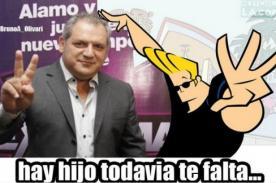 Álamo Pérez Luna: Difunden ocurrentes memes tras escándalo con Shirley Arica