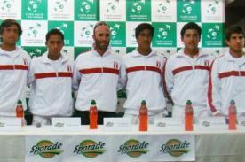 Copa Davis: Equipo peruano tiene definidos sus encuentros frente a Bolivia