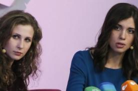 Pussy Riot pide a Obama ser más crítico con el gobierno de Rusia