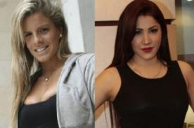 Alejandra Baigorria y Leslie Castillo discutieron por Mario Hart (Video)