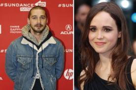 Shia LaBeouf dice que la homosexualidad de Ellen Page es una farsa