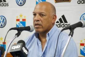 Roberto Mosquera se mostró indignado por fichaje de Pablo Bengoechea