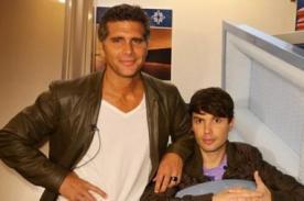 Bruno Pinasco y Christian Meier se toman selfie - FOTO