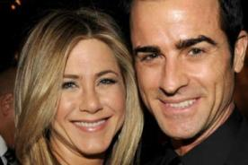 Jennifer Aniston confirma su boda con Juston Theroux para el 2015