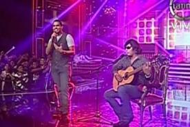 Yo Soy: 'Romeo Santos' y 'José Feliciano' remecieron escenario - Video