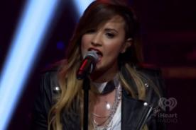 Demi Lovato encanta interpretando 'Give Me Love' de Ed Sheeran (Video)