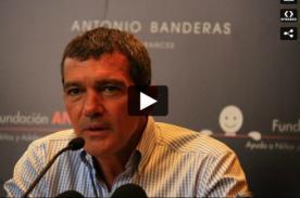 Antonio Banderas: El mundo debería ser gobernado por mujeres - AUDIO