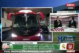 Final Champions League: Ambos equipos ya se encuentran en el estadio Da Luz