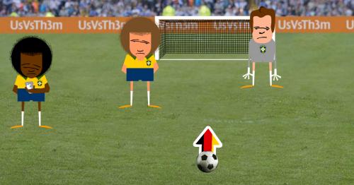 Nuevo juego para golear a Brasil