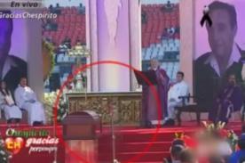 ¿Espíritu de Chespirito aparece en su funeral? [VIDEO]