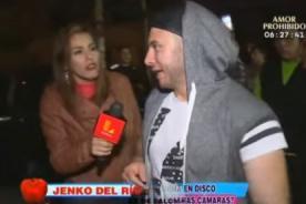 ¿Periodista de Hola a Todos agrede a reportera de Latina? - VIDEO