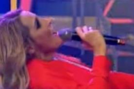 Combate: ¡Macarena Gastaldo casi se fractura la columna en el 'Tuti Fruti! - VIDEO